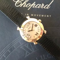 Chopard Happy Sport 7 Floating Diamonds Mother of Pearl Dial Date