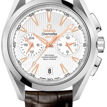Omega Aqua Terra 150m Co-Axial GMT Chronograph 43mm 231.13.43....