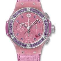 Hublot : 41mm Big Bang Purple Linen Watch