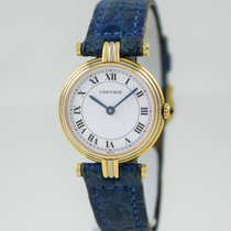Cartier Vendome Trinity TriColor Lady Gold Case Ref.881004