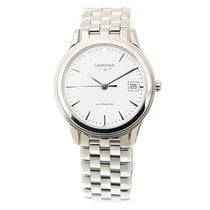 Longines Flagship Stainless Steel White Automatic L4.774.4.12.6