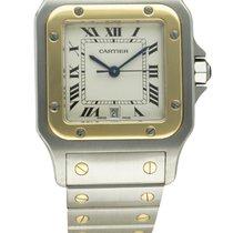 Cartier STEEL & GOLD SANTOS GALBEE