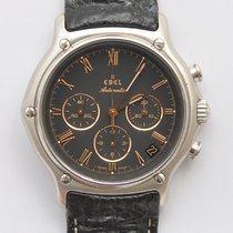 Ebel 1911 Modulor chronograph solid platinum case
