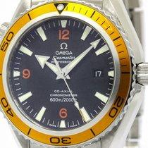 Omega Polished Omega Seamaster Planet Ocean Orange Automatic...