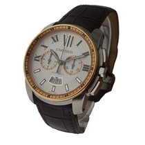 Cartier W7100043 Calibre de Cartier Chronograph Two Tone -...