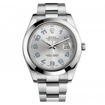 Rolex Datejust II 41mm Steel 116300 Mens Watch