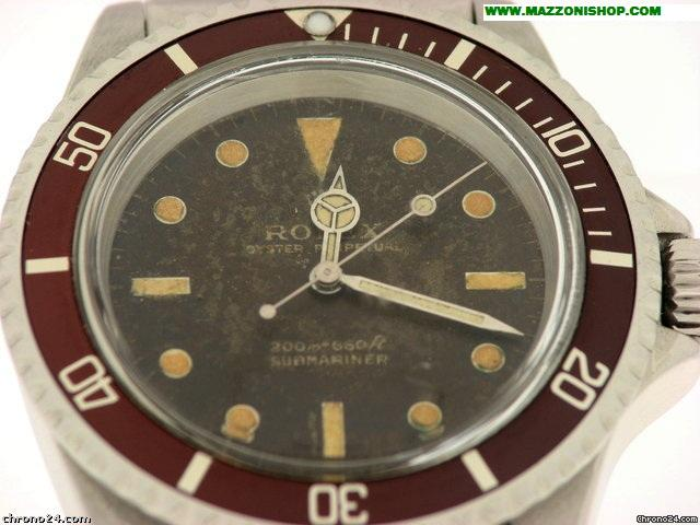 Rolex SUBMARINER  TOPICALE MARRONE ANNI 60&amp;#39;