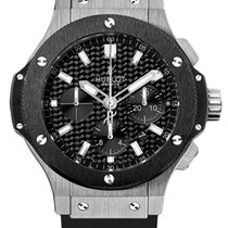 Hublot Big Bang Stainless Steel Ceramic Rubber Automatic Men`s...