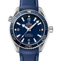 Omega 232.92.42.21.03.001 Planet Ocean 600M Co-Axial 42mm Blue...