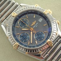 Breitling Chronomat Stahl / Gold mit Rouleauxband Stahl...