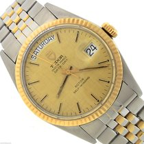 Rolex Oyster Prince Date-Day Stainless 18K Gold Linen 94613 35mm