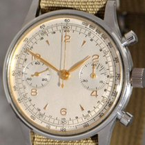 Special model Vintage Oversized Hermetic Valjoux 22 Chronograph