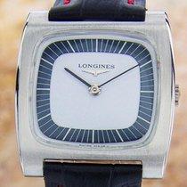 Longines Swiss Made Rare Mens Mid Size Manual Dress Watch...