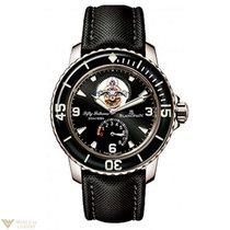 Blancpain Fifty Fathoms Tourbillon 18K White Gold Watch