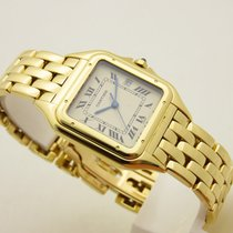 Cartier Phantere lady gold 18 kt ref 887968 box & papes