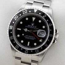 Rolex GMT-MASTER II EDELSTAHL GMT MASTER 2 NO HOLES SEL