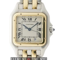 Cartier Panthere Collection Panthere Large 27mm Steel & Gold