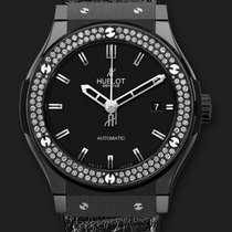 Hublot Classic Fusion Black Magic Diamonds 45 mm