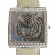 Corum Artisan Buckingham Tiger 2 Row Diamond Bezel