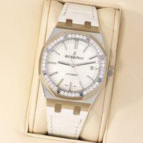 Audemars Piguet Royal Oak Ladies Factory Diamonds 15451ST.ZZ.D...