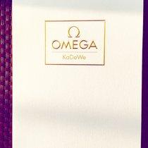 Omega DE VILLA PRESTIGE CO-AXIAL 32,7 MM Gelbgold mit Lederarm...