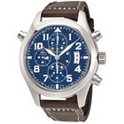 IWC Pilot Midnight Blue Dial Double Chronograph Automatic...