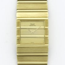 Piaget Yellow Gold Polo Square Bracelet Watch