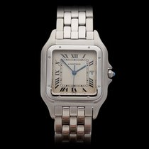 Cartier Panthere Jumbo Stainless Steel Gents W25032P5 or 1300