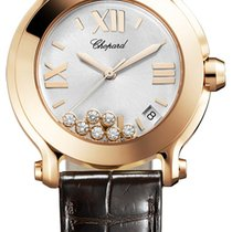 Chopard Happy Sport Round Quartz 36mm 277471-5013