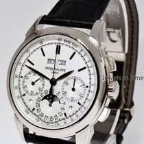 Patek Philippe Grand Complications Chronograph 18k White Gold...