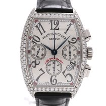 Franck Muller Cintrée Curvex Chrono After Set 6.5CT G VS1 Pave
