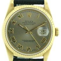 Rolex Oyster Datejust 750/18K Gold Ref. 16238, Ø 36mm Saphirglas