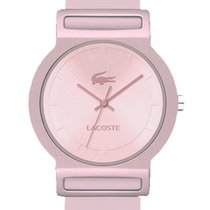 Lacoste Tokyo Womens Fashion Watch Pink Dial Silicon Strap...