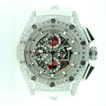 Cvstos Challenge-R 50 Chrono Stainless Steel & Diamond