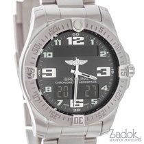 Breitling Aerospace Evo Titanium Analog Digital Watch E7936310...