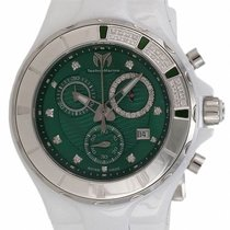 Technomarine Cruise Ceramic Chronograph Ceramic Diamond Womens...