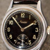 Minerva vintage Military wristwatch WW2