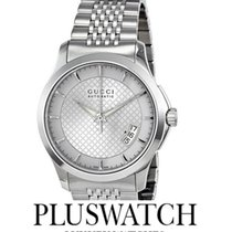 Gucci G-Timeless Silver Dial 38mm YA126417 T