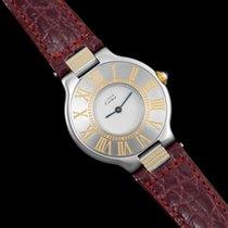 Cartier Must De 21C Ladies Watch - Stainless Steel & 18K Gold