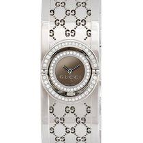 Gucci Diamond 112 Twirl Bangle Ladies Watch – YA112504