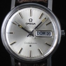 Omega Constellation Day-Date Steel Automatic