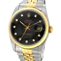 Rolex Oyster Perpetual Datejust 18K Gold/SS 16233G, Orig....