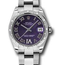 Rolex Watches: 178344 pdro Datejust 31mm - Steel 24 Diamond