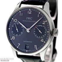 IWC Portugieser Automatic 7-Days Ref-IW500106 18k White Gold...