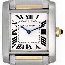 Cartier Tank Francaise Midsize Men's or Ladies 2-Tone...