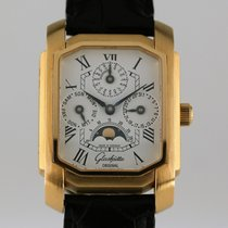 Glashütte Original Karree Hand-wound Perpetual Calendar Rose Gold
