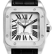 Cartier Santos 100 Midi Steel Watch W20106X8