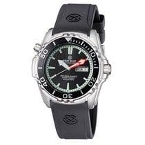 Deep Blue Pro Aqua Diver 1000 Day/date Diving Watch Black Dial...