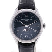 Baume & Mercier Clifton 43 Moonphase Blue Dial