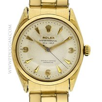 Rolex vintage 1956 stainless steel and gold filled Oyster...